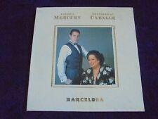 Freddie Mercury & Montserrat Caballe - Barcelona 1988 UK LP POLYDOR 1st QUEEN