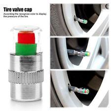 4 Pcs Car Auto Tire Pressure Monitor Valve Stem Cap F44 Indicator Eye Alert RC