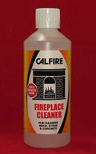 Calfire Fireplace Cleaner - Soot & Tar Remover - For Brick, Stone & Concrete.