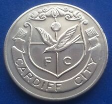 CARDIFF CITY FA CUP CENTENARY  (1872  - 1972 ) ESSO COIN / MEDAL