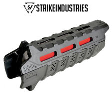 Strike Industries Viper M-LOK Handguard - Black w/Handstop & Red Heat Shield