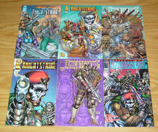 Operation: KnightStrike #1-3 VF/NM complete series + one-shot + (2) variants set