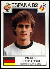 Espana 82 Pierre Littbarski #156 World Cup Story Panini Sticker (C350)