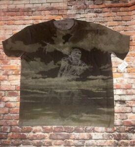 Raw-7 Luxury Tee Shirt XXL Indian Mummy Samurai. Affliction, MMA Nordstrom Soft