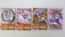 YUGIOH ORICA ANIME CARDS - DARK MAGICIAN GIRL SET!!