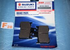 2 plaquettes de frein Arrière origine Suzuki GSF 650 Bandit GSXR 600 750 1000