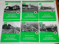Southern Railway TIES Magazines Issues Complete Year 2005