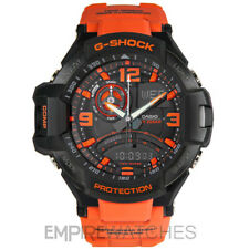 * Nuovo * CASIO G-Shock da Uomo Aviazione TWIN SENSOR WATCH-GA-1000-4A - RRP £ 260
