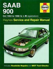 1993 - 1998 Saab 900 2.0L 2.3L 4-cyl Haynes Service Repair Workshop Manual 6248