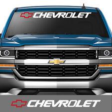 Chevrolet  windshield decal sticker silverado z71 lt ls 1500 2500 chevy truck