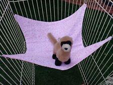 "Ferret Hammock - Tiny Pik & White Stars - 14"" x 15"""