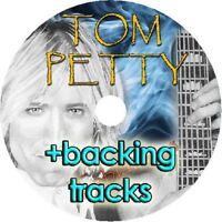 TOM PETTY  BASS & GUITAR TAB CD TABLATURE + BACKING TRACKS GREATEST HITS BEST OF