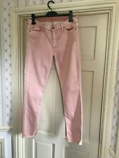 7 For All Mankind ❤️ W32 Straight leg 30 SALMON PINK COLOUR GREAT CONDITION