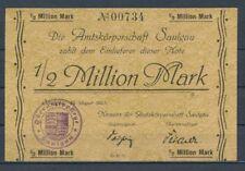 Saulgau-amtskörperschaft - 1/2 Million de MARK-Cachet