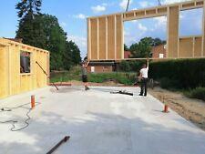 Holzrahmenhaus Rohbau 8,10x 12,60 mit Montage