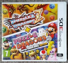 PUZZLE & DRAGONS Z + SUPER MARIO BROS NINTENDO 3DS GAME brand new and sealed UK