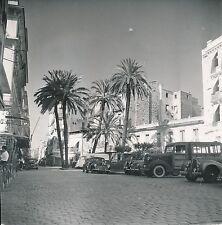 ALGÉRIE c. 1950 -  Autos Rue Commerces  Bône  - Div 11404