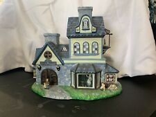 PartyLite Old World Village Ceramic #1 Candle Shoppe Tealight Use Retired P7315