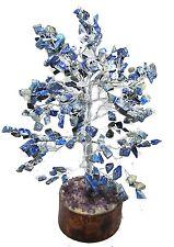Lapis Lazuli Money Tree Spiritual Feng Shui Vastu Table Decor Reiki Gemstones