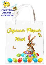 sac shopping pâques  sac pour la chasse aux oeufs sac à cadeaux  réf 48