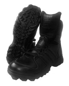 Original Polizei Einsatzstiefel Adidas GSG9 Kampfstiefel Stiefel Schuhe Leder