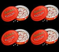 6 X 10gm Baba Elaichi Silver Coated Saffron Blended Cardamom Seeds Best Price