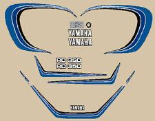 YAMAHA RD 350 LC 1982 MODELLO EURIPEO ADESIVI STICKERS