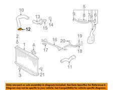 TOYOTA OEM Radiator-Upper Hose Clamp 9046737005