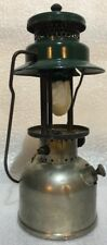 COLEMAN LANTERN 242B BRASS / GREEN December 1936 MADE IN USA Boy Scouts
