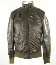 """Men's G-Star Astron Weston Bomber Jacket in Brown size Small 36"""" lightweight"""