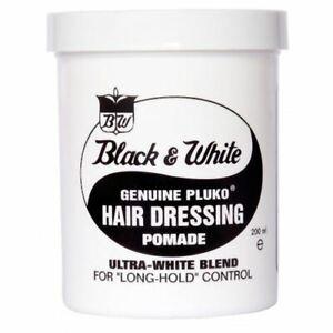 Black and White Wax 200ml