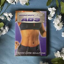 Brand New Crunchless Abs - Cardio Core Sculpting Workout Dvd