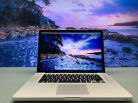 Apple MacBook Pro 15 inch / INTEL I7 PROCESSOR / 8GB RAM / 1TB / OS2017 / WAR