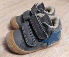 Naturino Flexy VI Baby Schuhe Wildleder Grau Wolle Stern Gr. 18 NEU