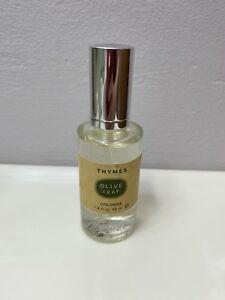 Thymes Olive Leaf Cologne Ladies 1.8 fl oz No Box Spray Bottle New