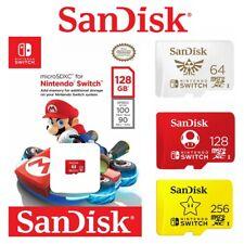 SanDisk Nintendo Switch 128GB 64GB 256GB Micro SD Card SDXC Genuine Memory Card