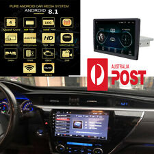 9 inch Touch Screen Single Din Adjustable Android 8.1 Car Stereo Radio Player