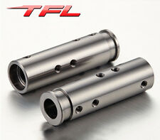 TFL DIY AXIAL SCX10 Crawler Metal Front Axel Tubes Parts Upgraded RC Car Model