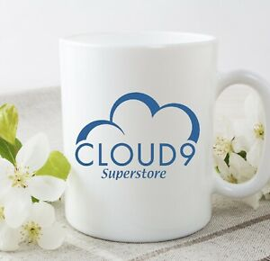 Superstore Cloud 9 Novelty 11 Oz Funny Cup Mug Birthday Gift Christmas Present