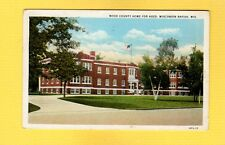 Wisconsin Rapids, WI Wisconsin, Wood County Home for Aged used 1934