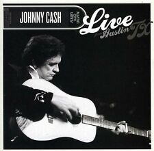 Johnny Cash - Live from Austin TX [New CD] Jewel Case Packaging