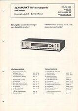 BLAUPUNKT - Delta 6003 GD - Kundendienstschrift Manual Schaltplan - B3441