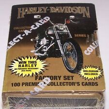 Harley Davidson Collectors Cards Series 3 Collect-A-Card Sealed Factory Set