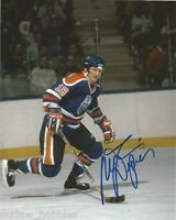 Edmonton Oilers Mark Napier Autographed Signed 8x10 Photo COA