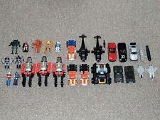 Broken 1980s Bandai GoBots Lot of 27 Figures for Parts, Repair or Custom Bait