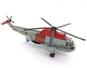 VINTAGE DINKY TOYS SEA KING RESCUE HELICOPTER DIECAST.