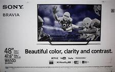 """Sony KDL48W650D 48"""" Smart  TV 1080p Motionflow XR 240 LED HDTV"""
