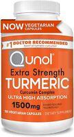 Turmeric Curcumin 1500mg Qunol Ultra High Absorption Extra Strength Capsules