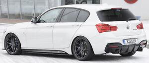 Rieger CUP Diffusor SCHWARZ für BMW 1er F20 F21 M135i  M140i M1 Heckansatz