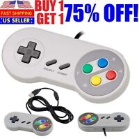 Classic Retro USB Wired Game Controller Joystick For Nintendo NES Windows PC,OS